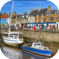 Anstruther Fife Coaster FMC_45_SC